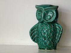 dutch owl money box [brussels flea market find by fat cat blog]