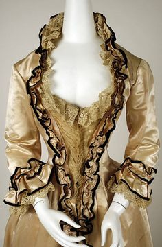 tea gown 1880