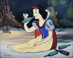 15 Disturbing Takes on Classic Disney Cartoon Characters