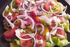 Vitamin - Salatteller (Rezept mit Bild) von Gsus39 | Chefkoch.de