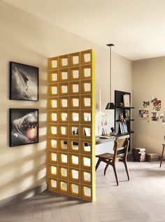 Como dividir ambientes integrados? - Danielle Noce Portobello, Lima, Living Room Divider, Coworking Space, Interiores Design, Decoration, Home Projects, Future House, Home Office