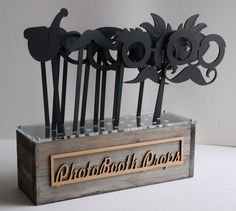 Acrylic Cut PhotoBooth Props with Prop by AFlutteredCollection, $82.00