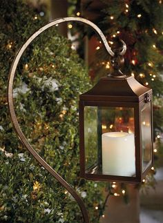 Use a single lantern as a garden or entry accent or multiples to line a pathway.