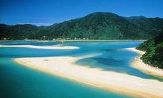 Abel Tasman National Park Nelson - New Zealand, South Island Revealed Christmas Abbott, Best Places To Travel, Places To See, Nelson New Zealand, Tasmania, Audley Travel, Abel Tasman National Park, New Zealand Beach, New Zealand Travel Guide