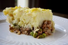 Both layers of this classic casserole have a hidden helping of vegetables: The lamb is cooked with meaty sauteed mushrooms, and the mashed potatoes on top are blended seamlessly with cauliflower.