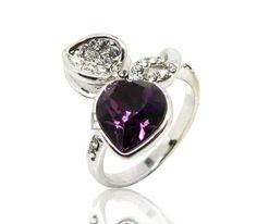 Lolita style fresh ring