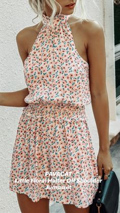 Spring Dresses Casual, Summer Dresses For Women, Cute Casual Outfits, Beautiful Summer Dresses, Boho Summer Dresses, White Sundress, White Dress Summer, Sundress Outfit, Floral Romper