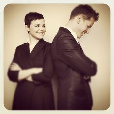 How I love these two! Ginnifer Goodwin and Josh Dallas are so cute together. Yay for Once Upon A Time!