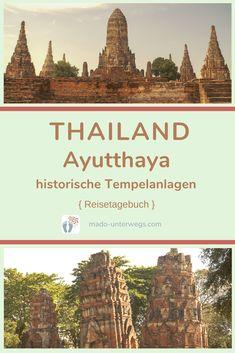 Was ist von der einst majestätischen Stadt #ayutthaya übrig geblieben? #ruinen von tempeln 🛕 und Palästen, die heute Besucher:innen aus aller Welt anziehen. Bspw. #watmahathat oder #watchaiwattanaram.⠀⠀⠀⠀⠀⠀⠀⠀⠀⠀⠀⠀⠀⠀⠀⠀  // #madoreisen #madounterwegs👣 #reisetagebuch #asien #thailand #reisetipp #travel #tourismthailand // Werbung, da Firmen-/Marken-/Ort-/Personen-Nennung oder -Verlinkung ohne Auftrag, aber als persönliche Empfehlung // Dienstleistungen/Produkte/Unterkünfte selbst bezahlt // Ayutthaya, Thailand, Desktop Screenshot, Travel Scrapbook, Ruins, Temples, Travel Advice
