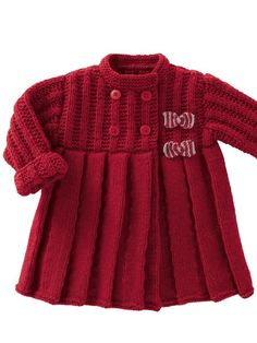 Bergere de France knitting patterns, Bergere de France Mag'Layette 0-24 Months - 165, Coat, from Laughing Hens