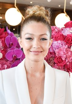 For extra coolness without much extra effort, trace the top edge of your flick with white liquid liner à la Gigi Hadid. Bonus: deets on the hair.   - MarieClaire.com