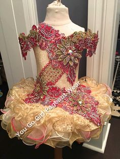 Items similar to New Custom Mega Glitz National Level Beauty Pageant Cupcake Dress on Etsy Glitz Pageant Dresses, Little Girl Pageant Dresses, Pageant Wear, Beauty Pageant, Types Of Fashion Styles, Glamour, Pageants, Formal Dresses, Trending Outfits