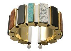 Bracelet MACROMOSAIC, Metalphysic, by Delfina Delettrez