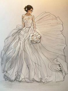 @karenorrillustration | Schrijf Inspirational❥ | Mz. Manerz: Wordt goed gekleed is een b ... - Fashion