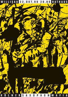 Niklaus Troxler, 1999 - Saxophon-Mafia
