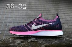 High-end Product Nike Air Zoom Mariah Flyknit Racer Black/Pink Women's Running Shoes Training