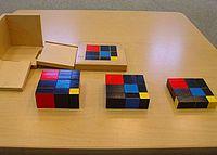 Trinomial Cube - MontessoriAlbum