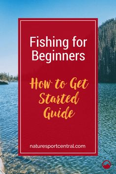 Want to start fishing? It is easier than you think, here is our ultimate beginners guide to help you get out and start fishing today! Catfish Fishing, Carp Fishing, Saltwater Fishing, Fishing Reels, Crappie Fishing, Fly Fishing For Beginners, Aquatic Ecosystem, Different Fish, Fishing Guide