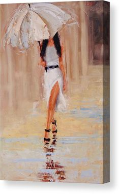Undercover Painting by Laura Lee Zanghetti - Undercover Fine Art Prints and Posters for Sale Rain Art, Umbrella Art, Laura Lee, Painted Ladies, Woman Painting, Body Painting, Beautiful Paintings, Female Art, Watercolor Art