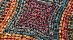 [Free Pattern] Fun And Colorful Crochet Pandora's Box Blanket - Knit And Crochet Daily