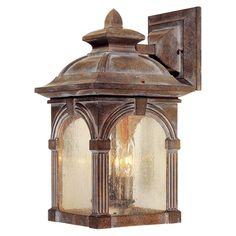 Vaxcel Essex OW38793RBZ Outdoor Wall Sconce - OW38793RBZ