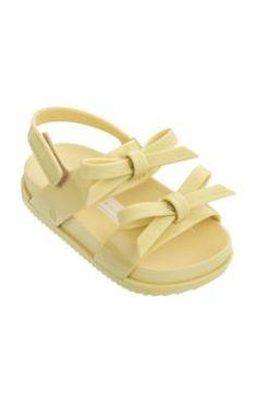 6302ffd788e8 Mini Melissa - MINI COSMIC SANDAL - Yellow