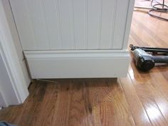 stacked baseboard trim