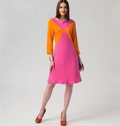 Patron de robe - Vogue 1326