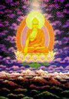 FESTIVAL DE WESAK -No momento exato da Lua Cheia, Buda, suspenso sobre a rocha, estende sua mão em uma benção em direção a Cristo, que, representando a Humanidade, a recebe para distribuição. Então é pronunciada a Grande Invocação, enviando uma forte corrente de gratidão, da Humanidade para o Próprio Deus. Enquanto Buda envia sua Benção de Iluminação e Cristo envia sua Benção de Amor, a estrutura atômica e molecular da água se altera, recebendo uma infusão de Sabedoria. Ela é então…