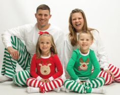 family christmas pajamas top and pants sets by birdiejameseands