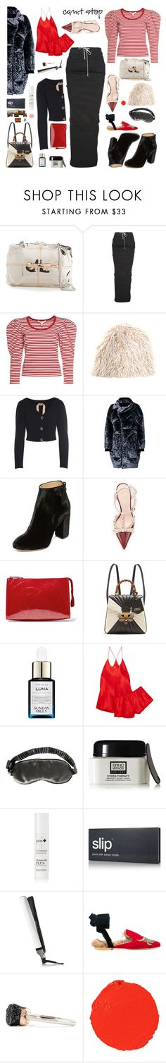 """""""Slip sliding away..."""" by sue-mes ❤ liked on Polyvore featuring Benedetta Bruzziches, Rick Owens, Marc Jacobs, Marni, N°21, Chen Peng, Charlotte Olympia, Kate Spade, MM6 Maison Margiela and Gucci"""