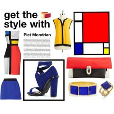 """""""Get the style with Piet Mondrian"""""""