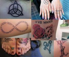 roman-numeral-tattoos-collage