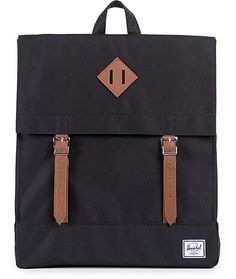 Get a classic scout bag inspired style with a magnetic strap closure into the fully lined large main compartment.