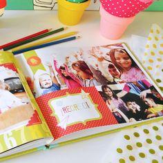 Un año del cole en imágenes. Creá tus propios anuarios escolares con las fotos…