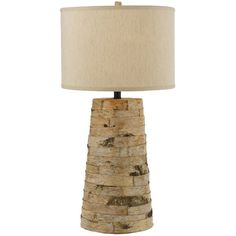 I pinned this Bark Table Lamp from the Cozy Delights event at Joss and Main!