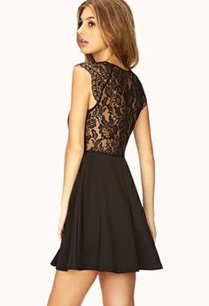 Dainty Lace A-Line Dress   FOREVER21 - 2000074080