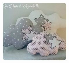 Almofadas patchwork feltro Ideas for 2019 Cute Pillows, Baby Pillows, Throw Pillows, Baby Crafts, Felt Crafts, Diy And Crafts, Sewing For Kids, Baby Sewing, Sewing Crafts