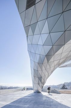 coop himmelblau musee des confluences designboom