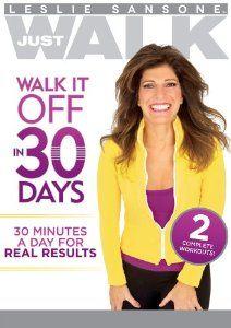 Amazon.com: Leslie Sansone: Walk It Off in 30 Days: Leslie Sansone, Andrea Ambandos: Movies & TV