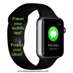 Mobile apps using new methods to produce useful results can be patented! Protect your ideas! www.allgaierpstentsolutions.com