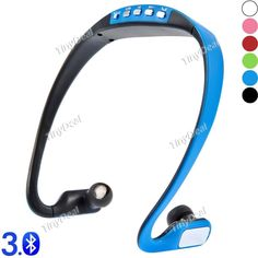 BS15 Wireless Bluetooth V3.0 Sports Hands-free Stereo Music Headsets Headphone w/ Mic EEP-385126