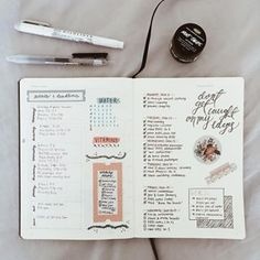 Use washi tape to separate your events, your goals, and your daily tasks. | 23 Genius Ways You Can Customize Your Bullet Journal
