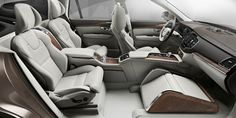 Volvo XC90 Lounge Console: The chauffeur's choice