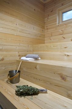 rosemary in sauna
