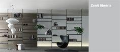 Rimadesio - librerie, mobili componibili per zona giorno e living in vetro e alluminio, arredamento casa e ufficio - Rimadesio