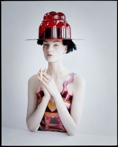 Jello Hat - I love an accessory that you can eat if you run out of food :)   Nice skin
