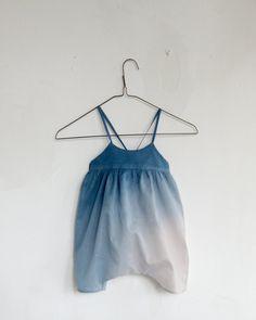 Cobalt Ombre Jumpsuit at Darling Clementine