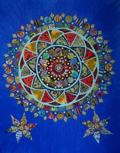 Quilted Mandala