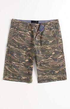 Quicksilver Bailey Camo Shorts #Quicksilver #PacSun